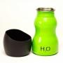 H2O4K9 Fľaša na vodu pre psa 0.3l - zelená