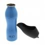 Fľaša na vodu pre psa H2O K9 0.7l - modrá