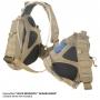 Batoh přes rameno Maxpedition Monsoon Gearslinger (0410) / 16L / 35x15x51 cm Khaki