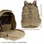 Batoh Maxpedition Vulture II 3-Day Backpack (0514) / 34L / 38x23x51 cm Khaki