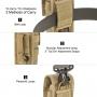 Pouzdro Maxpedition TC-11 (PT1037) / 18x10 cm Khaki