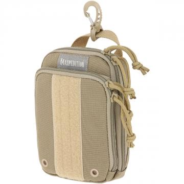 Organizér Maxpedition ZipHook střední (PT1536) / 17x12 cm Khaki