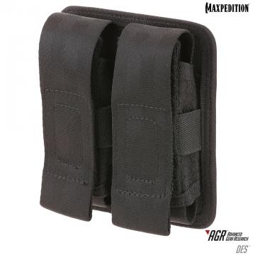 Dvojité pouzdro Maxpedition Double Sheath Pouch (DES) / 10x4x13 cm Black