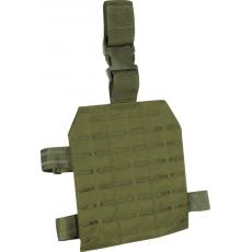 Stehenní závěs Lazer Viper Tactical Lazer Dropleg Platform (VLMDLP) / 22x25x1cm Green