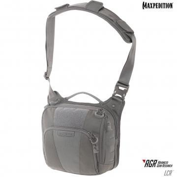 Brašna Maxpedition Lochspyr Crossbody Shoulder Bag (LCR) / 5.5L / 23x28x15 cm Grey