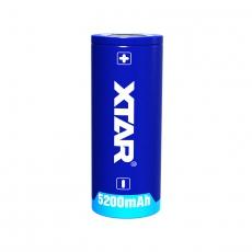 XTAR 26650 Li-Ion 5200mAh 7A Dobíjacie, chránené batérie