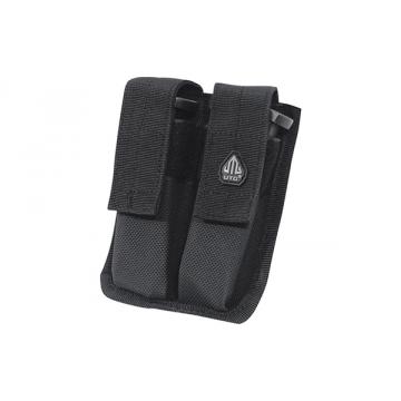 Puzdro na zásobníky PVC-MP2 UTG-Leapers Dual Pistol Mag Pouch Black