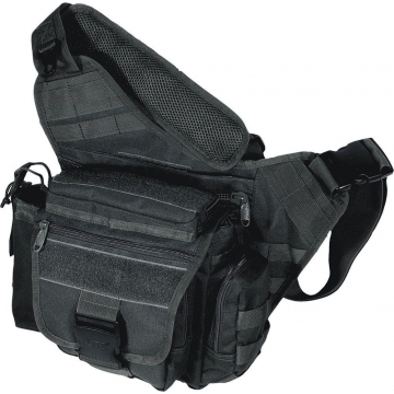Brašna PVC-P218 UTG-Leapers Multi-functional Tactical Messenger Bag / 26x14x32cm Black
