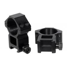 Montáž pro optiku 30mm na Picatinny - kroužky UTG RGWM-30H4 Accushot High (2ks)