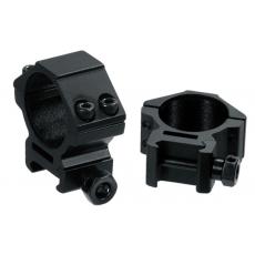 Montáž pro optiku 30mm na Picatinny - kroužky UTG RGWM-30L4 Accushot Low (2ks)