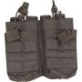 Dvě dvojité MOLLE sumky na zásobníky M4 Viper Tactical Double Duo Mag Pouch Black