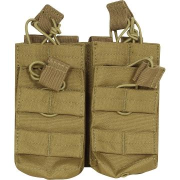 Dvě dvojité MOLLE sumky na zásobníky M4 Viper Tactical Double Duo Mag Pouch Coyote