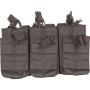 Tři dvojité sumky na zásobníky M4 Viper Tactical Duo Mag Pouch - Treble Black