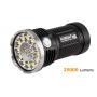 Svítidlo Acebeam X80  / Bielá+RGB+UV / 25000lm (1m+1.3h) / 332m / 11 režimov / IPx8 /