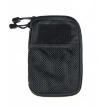 Pouzdro MilTec MOLLE Belt Office / 11x17x1.5cm Black