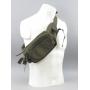 Ledvinka MilTec Hip Bag Large / 23x15x8cm Black