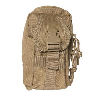 Pouzdro MilTec Commando Belt Pouch (136070) / 13x8,5x5cm Coyote