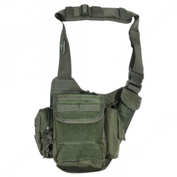 Brašna MilTec Sling Bag Multifunction / 6L / 24x20x10 cm Green