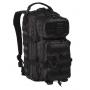 Batoh MilTec Tactical Black US Assault S / 20L / 42x20x25cm Black