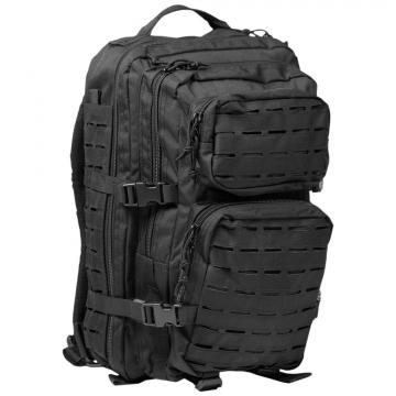 Batoh MilTec US Laser Cut Assault L / 36L / 51x29x28cm Black