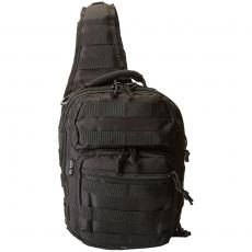 Batoh přes rameno MilTec Assault S / 10L / 30x22x13cm Black