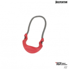 Zip vytahuj maly Maxpedition Positive Grip Zipper Pulls (Small) (6 ks.) (PZSRED)
