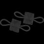 Gumová smyčka Viper Tactical 4ks. Black