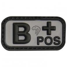 Nášivka na suchý zip B+ Black Viper Tactical / 5x2.5cm