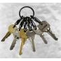 Nerezovy kroužek na klíče Nite Ize KEYRING STEEL