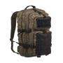 Batoh MilTec Ranger US Assault L / 36L / 51x29x28cm Green Black