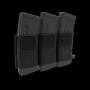Elastická trojitá sumka na zásobníky M4 na suchý zip Viper Tactical VX Triple Rifle Mag Sleeve Black