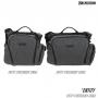 Brašna Maxpedition Entity Crossbody Bag Large (NTTCBL) / 14L / 28x14x28 cm Charcoal