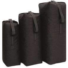 Sumka MilTec US COTTON DUFFLE BAG Medium / 85L / 105x60cm Black