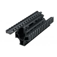 Předpažbí UTG Universal Tactical AK Quad Rail (MNT-T479S)