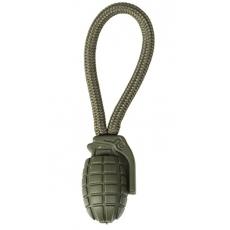 Zip vytahuj MilTec RING PULLER PINEAPPLE (5 ks) Green