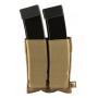Elastická sumka MOLLE na zásobníky SMG Viper Tactical Double SMG Mag Plate Dark Coyote