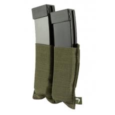 Elastická sumka MOLLE na zásobníky SMG Viper Tactical Double SMG Mag Plate Green