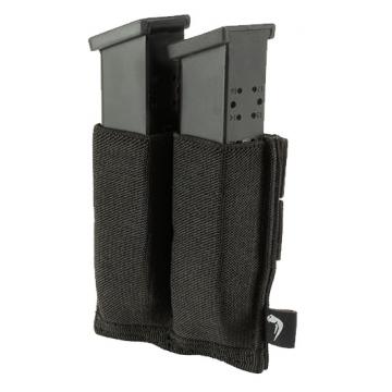 Elastická sumka MOLLE na zásobníky do pistole Viper Tactical Double Pistol Mag Plate Black