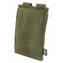 Elastická sumka MOLLE na zásobník M4 Viper Tactical Single Rifle Mag Plate Green