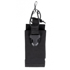Pouzdro na vysílačku na suchý zip MilTec / 7x3x15cm Black