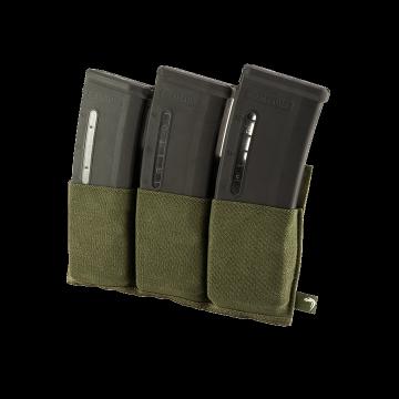 Elastická trojitá MOLLE sumka na zásobníky Viper Tactical Triple Mag Plate Green