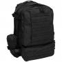 Batoh MFH Tactical-Modular / 45L / 42x53x30cm Black