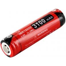 Klarus 18650 Li-Ion 3100mAh 12A Dobíjecí, chráněné baterie