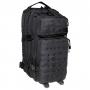 Batoh MFH US Assault I Laser / 30L / 23x44x24cm Black