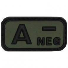 Nášivka na suchý zip MFH A- OD-Green  / 5x2,5cm