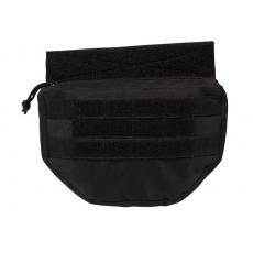 Sumka MilTec na nosič plátů nebo vestu / 23x4,5x16cm Black