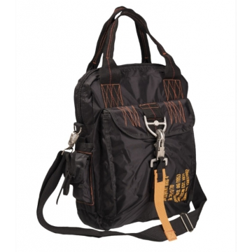 Taška přes rameno MilTec DEPLOYMENT BAG 4 / 37x27x11cm Black