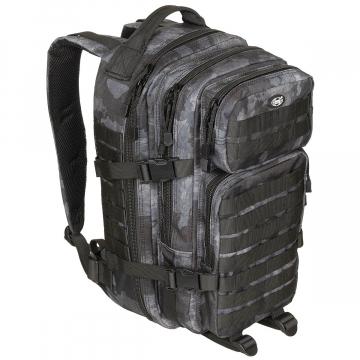 Batoh MFH US Assault I / 30L /  23x44x24cm HDT-camo LE
