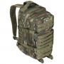 Batoh MFH US Assault I / 30L /  23x44x24cm WoodLand