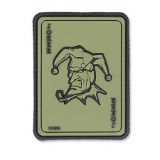 Nášivka na suchý zip 101 Inc. Joker OD Green / 60x80mm